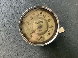 Morris Minor Speedometer Gauge Cluster Made In England by Smiths SN 4401/15