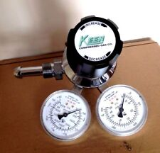 KEEN COMPRESSED GAS REGULATOR / VALVE PART NO. 2122301-56-580