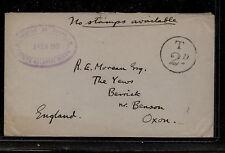 Tristan da Cunha  no stamps available  nice markings   1951     KL0228