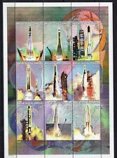 Senegal 1999 - Space  on postage stamps MNH** AE3