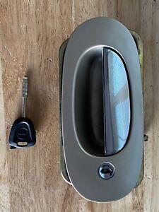 ✅ 98-03 Jaguar XJ8 Vanden Plas Front Left Driver Exterior Door Handle W/ Key OEM