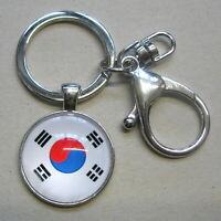 Schlüsselanhänger Keychain Korea Südkorea TAEKWONDO TKD