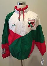 Vintage Apex One World Cup Of Soccer '94 Italy Windbreaker Light Jacket Size L