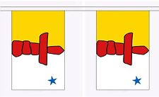 More details for nunavut 9 metre bunting 30 flags flag canada canadian iqaluit
