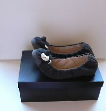 Chanel Camellia Flower Ballerina Ballet Flats Shoes 39 NIB $970