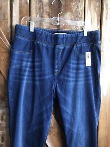 Old Navy NWT Rockstar  24/7 Sculpt Blue Jeans Sz 16