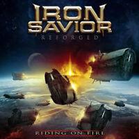 IRON SAVIOR - Reforged - Riding On Fire DIGI Doppel CD NEU!