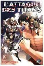 manga L'Attaque des Titans Tome 19 Seinen Hajime Isayama Pika Shingeki no Kyojin