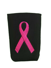Black & Pink Ribbon Breast Cancer Awareness Can Jacket
