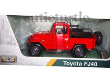 Motormax Toyota FJ 40 Land Cruiser Convertible 1:24 Diecast Car 79330 Red