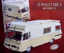 Motorhome Peugeot J7 Maillet Eric 3  1:43 New & Box diecast model camper