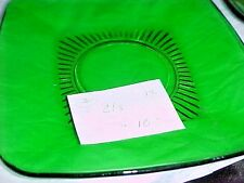 Anchor hocking forest green glass     cup and saucer sets 2 sets 1 extra CUP