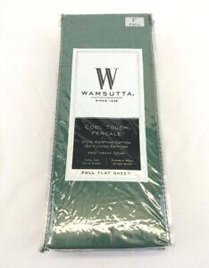 Wamsutta Cool Touch 350 Thread Count Full Flat Sheet 100% Egyptian Cotton