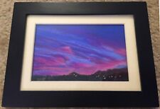 Original Miniature Pastel Painting by New Mexico artist Sharon Jensen