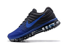Men's Nike Air Max 2017 Deep Royal Blue Running Shoes -Size 10 -849559 401 <New>