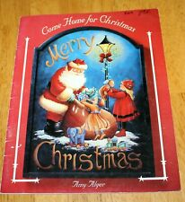 Juliet Designs: Come Home For Christmas Tole Painting Book by Amy Alger - Guc