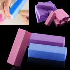 10Pcs Nail Manicure Buffing Sanding Buffer Block Nail Salon Polisher Tool Flower