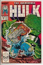 Marvel Comics Incredible Hulk #342 April 1988 Todd McFarlane VF
