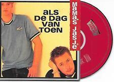 MAMA'S JASJE - Als de dag van toen CD SINGLE 2TR Cardsleeve 1997 Belgium
