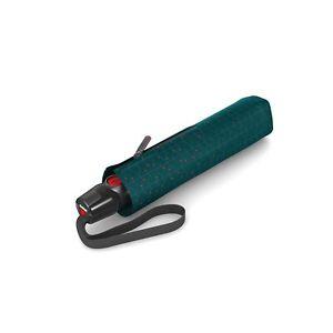 Knirps T.200 Duomatic Umbrella NUNO Biru Forest - UV Protection