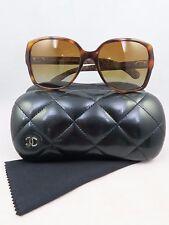 Chanel 5289-Q c.1295/S9 Havana Polarized New Authentic Sunglasses 57/17/140mm