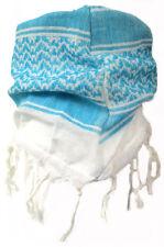 Baby Pali panno bianco-turchese frange sciarpa per bambini