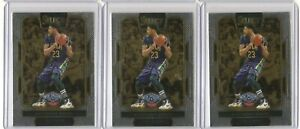 Lot Of 3 - 2016-17 Panini Select ANTHONY DAVIS Courtside Chrome #201 Pelicans SP