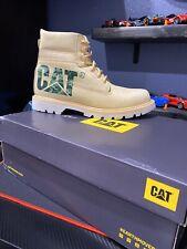 CAT Caterpillar Men's 10  P724300 Colorado Bold New Wheat Footwear Boots Shoes
