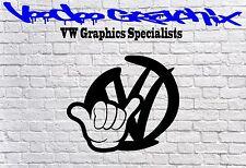 """Volkswagen 17"""" Autocollants Transporter T6 T5 T4 Campervan Bonnet Decal VW graphique"""