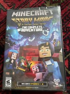 Minecraft: Story Mode - The Complete Adventure (PC DVD-ROM, 2016) *NEW SEALED*
