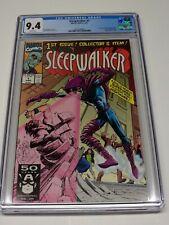 Sleepwalker #1 CGC 9.4 NM 1st First Appearance Marvel Upper Deck Insert