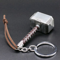 1 * Creative Alloy The Aveng  ers Thor Thor's Hammer Metal Keyring Keychain Chic