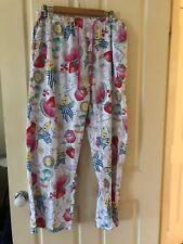 PETER ALEXANDER Bananas in Pyjamas Summer Cotton Pyjama Pants Size XL