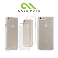 Case-Mate Naked Tough Sheer Glam Clear Glitter Hard Case For Apple iPhone 6/6S