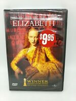 Elizabeth DVD, Kelly Macdonald, John Gielgud, Emily Mortimer, Vincent Cassel NEW