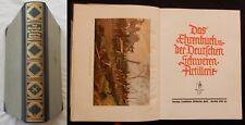 J/ DAS EHRENBUCH DER DEUTSCHEN SCHWEREN ARTILLERIE (1931) [Relié] en Allemand
