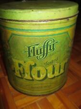 Vintage Fluffy Flour Tin