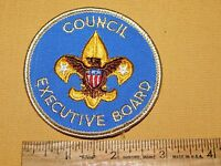 VINTAGE BSA BOY SCOUTS OF AMERICA PATCH  COUNCIL EXECUTIVE BOARD