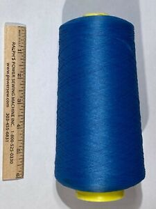 A&E Wildcat Plus Tex-24 Polyester Serger Thread huge 16oz Cone Empire Blue 32081