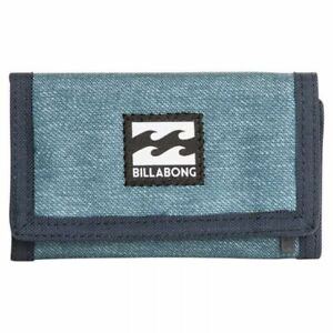 BILLABONG ATOM WALLET BNWT NAVY HEATHER DENIM