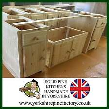 Traditional Belfast Butler Sink Solid Pine Kitchen ready to assemble unit ref B3