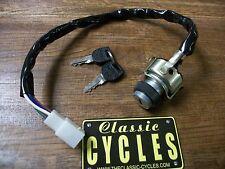 Ignition Key Switch Kawasaki Z1 KZ Z1900 KZ650 KZ750 KZ900 KZ1000 #27005-5007