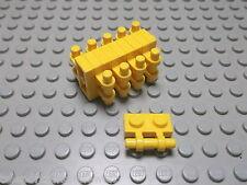 Lego 10 Platten 1x2 mit Griff gelb  2540 Set 7721 7944 6753 4950