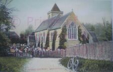 PRINT 10 X 7  SPEEN CHURCH NEWBURY BERKSHIRE PRINT c1908