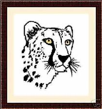 Cheetah, Original Cross Stitch Kit