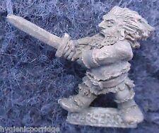 1985 Enano C06 Espada Berserk nórdico 0301 Slayer Citadel Warhammer ejército Berserker