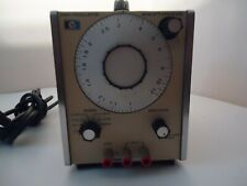 Hewlett Packard 204c Sinewave Oscillator With Original Manual