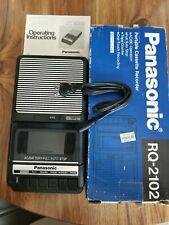 Panasonic Rq 2102 Portable Cassette Recorder