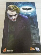 NIB Batman The Dark Knight The Joker Heath Ledger MMS68 1:6 Figure Hot Toys