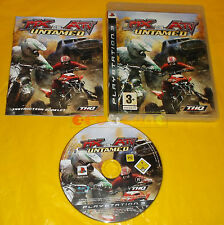MX VS ATV UNTAMED Ps3 Versione Inglese 1ª Edizione ○○○○○ COMPLETO